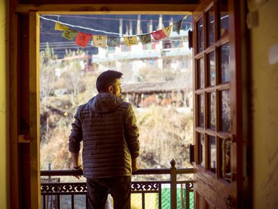 Work from Nomads Hostel Kasol, best and cheapest hostel in kasol