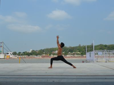 Being Fit through the practice of Yoga