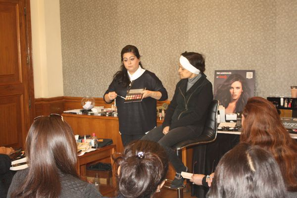 Attend our beauty masterclass and create ultimate Party make-up looks | Beauty Experiences by BWT